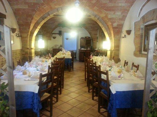 Ristorante Villa Clesia: Preparazione di un matrimonio.