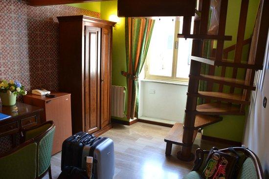 Hotel Stella della Marina : The lower part our room.