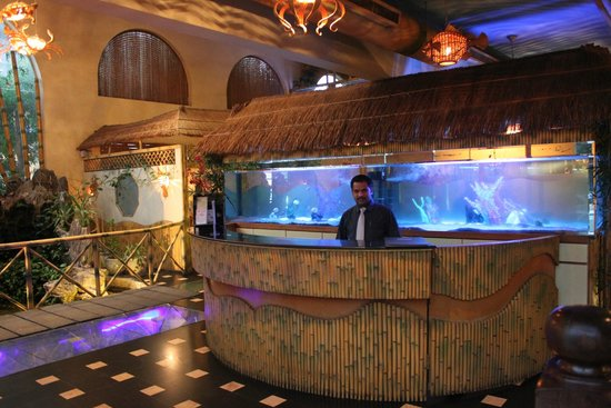 Bamboo Seafood Restaurant Front Desk