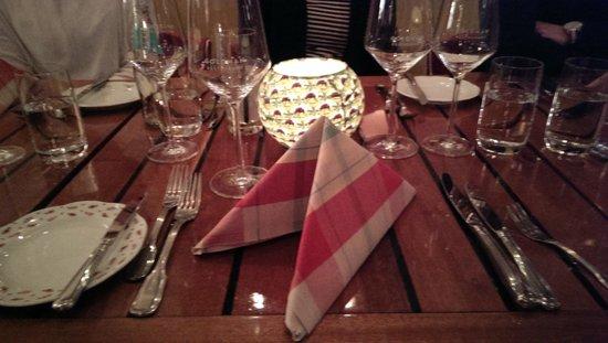 Goldman Restaurant: Tisch