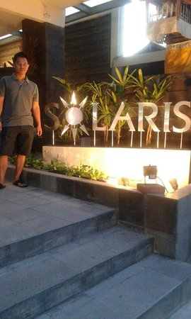 Solaris Hotel Kuta: Clean & Budget hotel, the staff are friendly, everything are nice, close to the beach, mall, 5 m