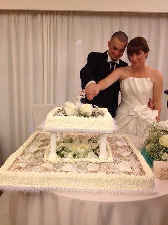 Villa Quiete: Torta nuziale