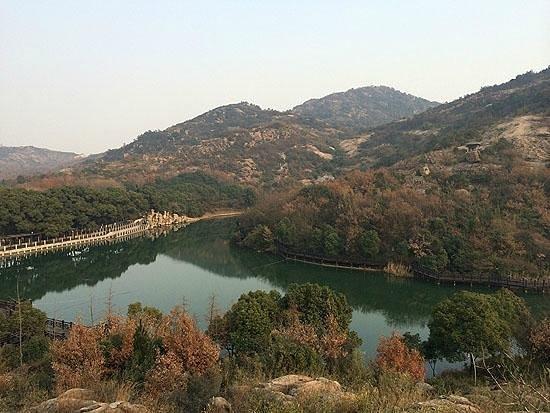 Baima Jian Longchi Scenic Spot : 斜面から