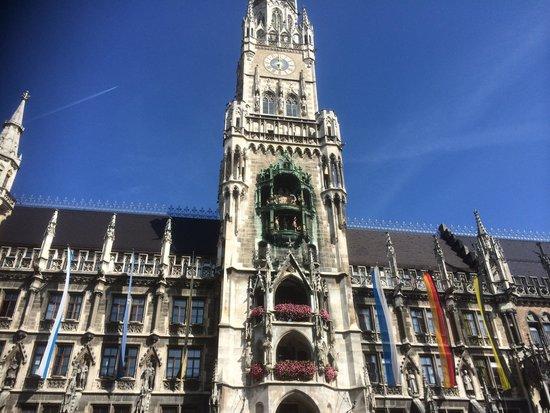 Centro Hotel Mondial: Close to Marienplatz