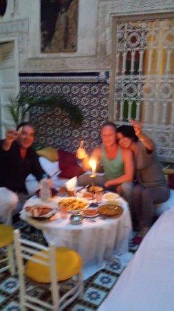 Les Couleurs de l'Orient: Soirée au Riad les Couleur de l'orient!
