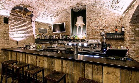 Czech Inn: Stylish Basement Bar And Breakfast