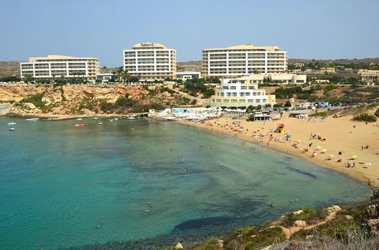 Radisson Blu Resort Spa Malta Golden Sands View Back Towards Hotel From Other