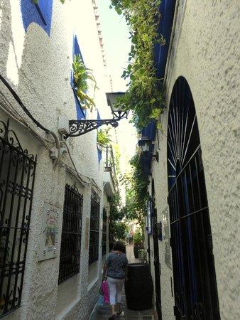 Bar El Estrecho: très belle rue étroite