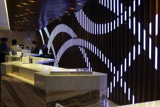 Radisson Blu Hotel, Beijing: โต๊ะเช็คอิน