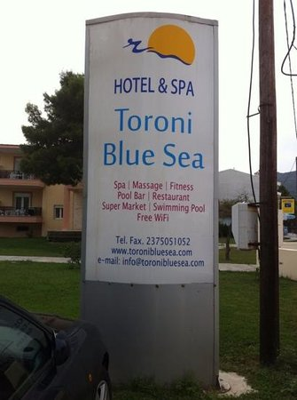 Toroni Blue Sea Hotel & Spa: hotel toroni