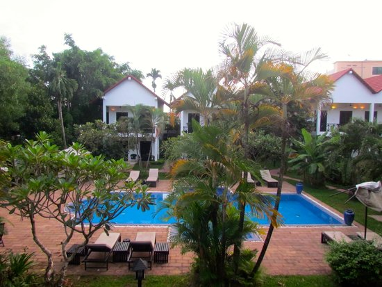 Community Residence Siem Reap: view from balcony
