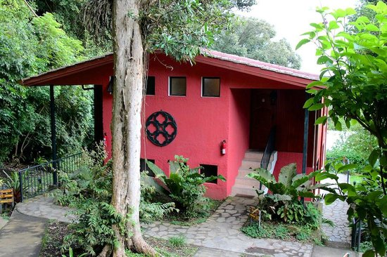 Hotel Fonda Vela : Building hosting rooms 14/15/16/17