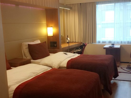 Radisson Blu Royal Hotel, Helsinki: Immaculate view of the room