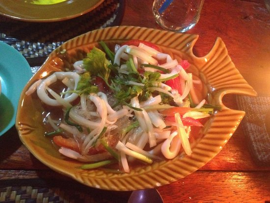 Knock Out Bar: Glass noodles salat