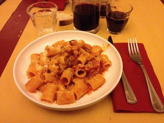 Pezzafina: Una amatriciana buonissima
