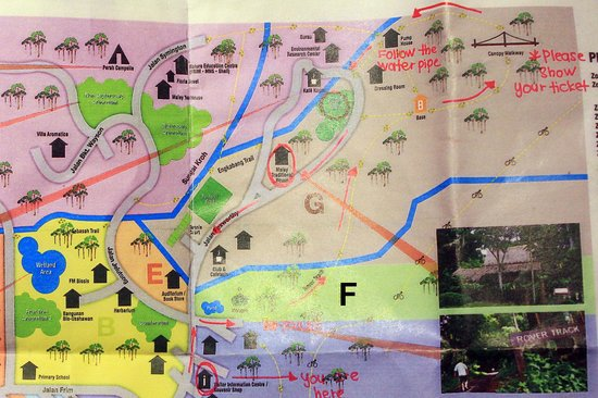 FRIM -Forest Research Institute of Malaysia: map