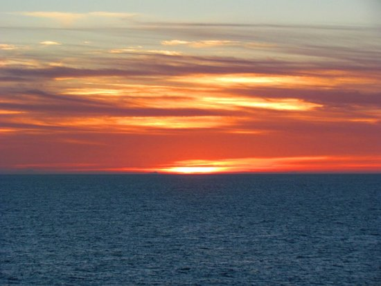 Sunrise Over Alaskan Inside Passge Picture Of Inside