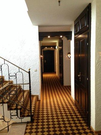 Romantik Hotel Bösehof: Treppenhaus