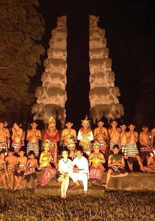 The Chedi Club Tanah Gajah, Ubud, Bali – a GHM hotel: Kecak & Fire Dance