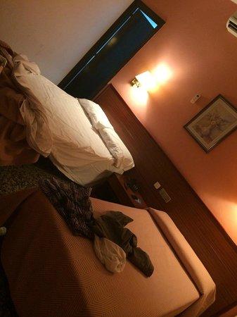 Hotel Cuatro Naciones: camera standard