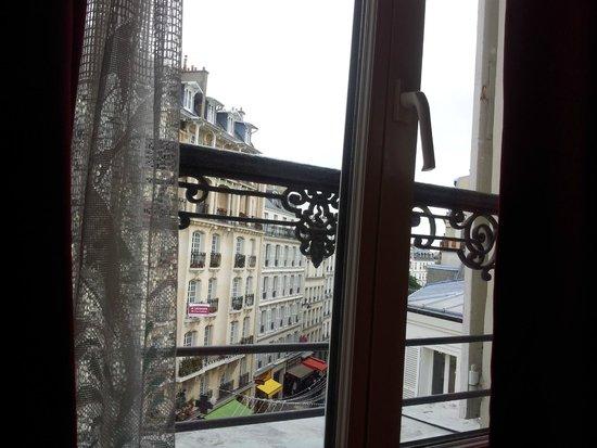 Hotel Audran: Vista da sacada do quarto