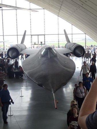 Imperial War Museum: SR71 in the American Display