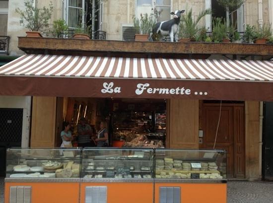 Paris Urban Adventures: one stop on the tour, cheese!