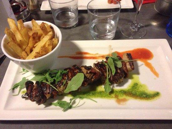 K2 Restaurant : Brochette de veau et tomates séchées
