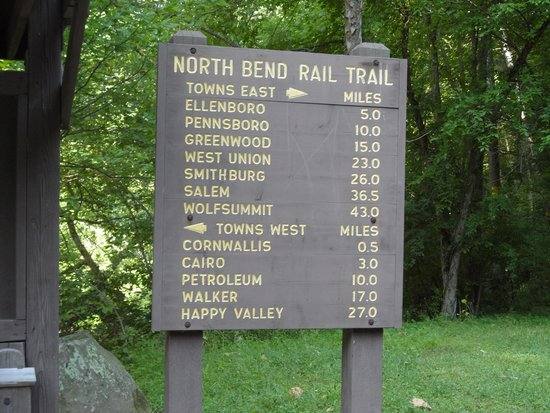 Trailside Memorial Picture Of North Bend State Park Cairo Tripadvisor