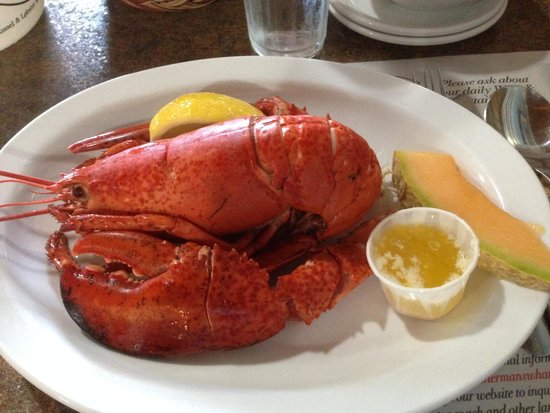 Fisherman's Wharf Lobster Suppers: 料理
