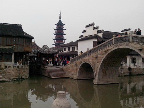 Qiandeng Ancient Town: 千灯古鎮