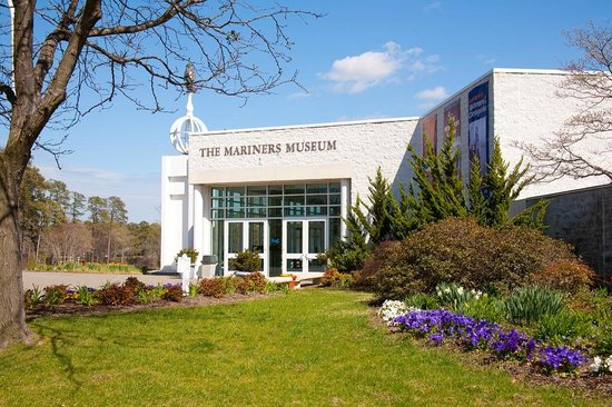 Newport News, Wirginia: Entrance to the Museum