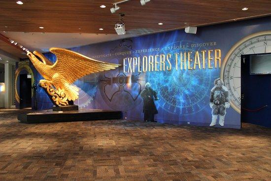 Newport News, VA: Explorers Theater
