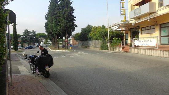Hotel Valmarina : in partenza