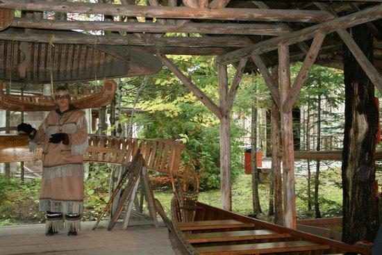Site Traditionnel Huron: Habitation collective