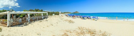 Cala Sinzias, Италия: spiaggia