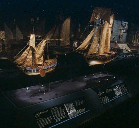 Newport News, VA: Crabtree Miniature Ships