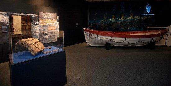 Νιούπορτ Νιουζ, Βιρτζίνια: Titanic display