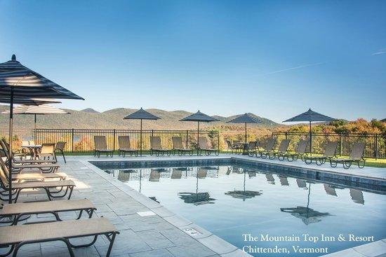 The Mountain Top Inn & Resort : Mountain Top Inn & Resort Pool