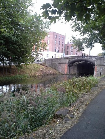 Leeson Bridge Guesthouse: view from canal path