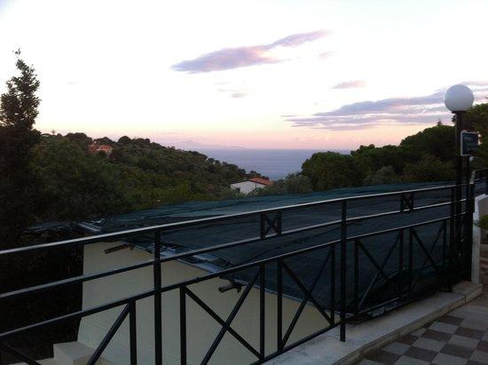 Tui Sensimar Grand Hotel Nastro Azzurro: view from bar in annexe