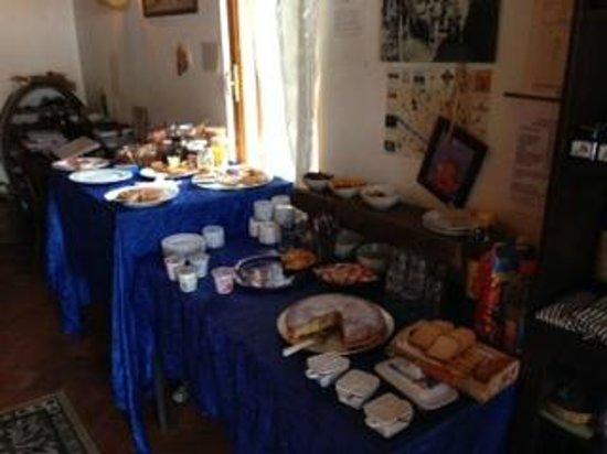 Il Fattoio: Tavolo Colazione