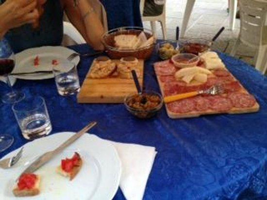 Il Fattoio: Menu Toscana