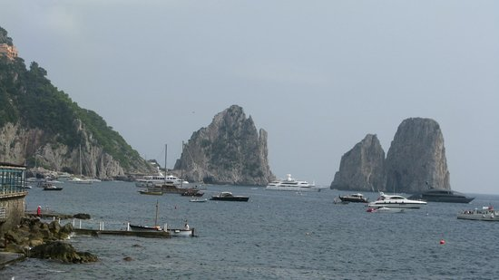 Bagni Internazionali Capri: Panorama superbe...