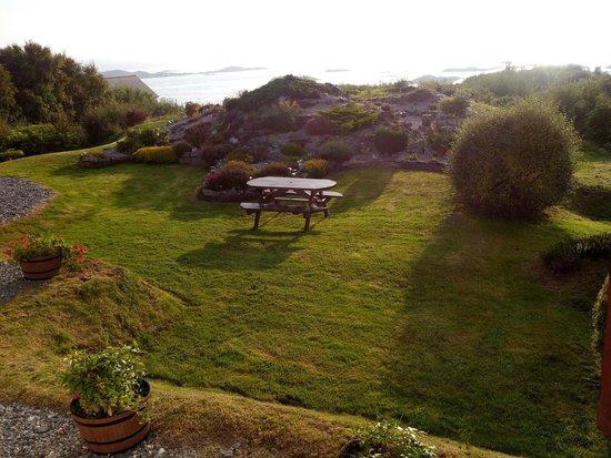 Badicaul, UK: Vista desde la ventana de nuestra habitación