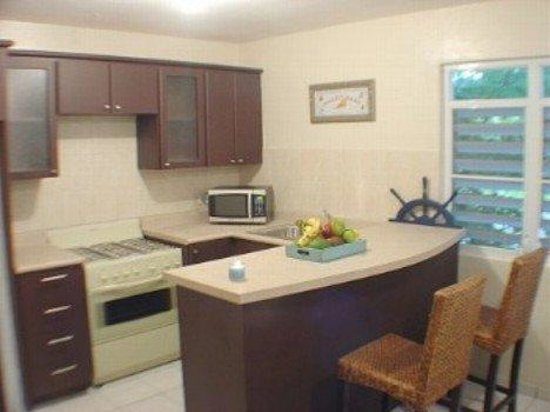 Sea Turtle Beach Apartments: Fully equipped kitchen