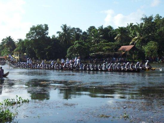 Ayana's Homestay: boat race
