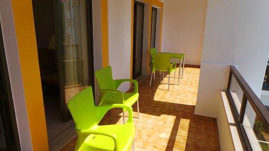 Clube Do Lago: good balcony
