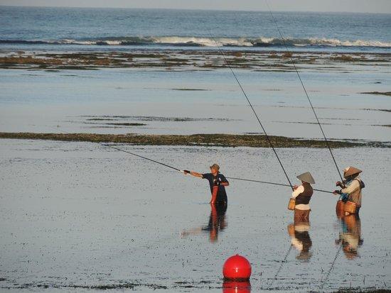 The Westin Resort Nusa Dua: Отлив - съемка с лежака