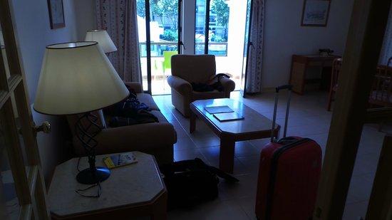 Clube Do Lago: comfy lounge